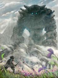 Shadow of the Colossus by CharlieCasado