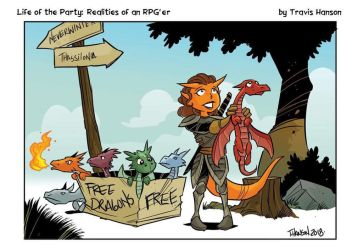 Free dragons by travisJhanson