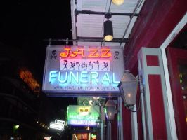 Jazz Funeral by afraudandafake
