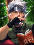 Kakashi Chilling by sakimichan
