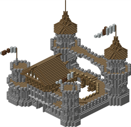 Jeracraft Medieval Castle by spasquini