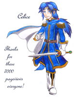 Celice from Fire Emblem 4 by Prince-Stephen