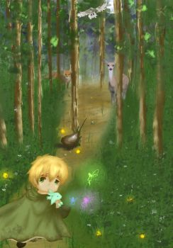 Into the Woods by Lady-Corbeau