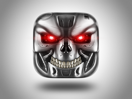 Terminator icon by AndreyRudenko