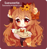 Hana's Autumn [Speedpaint] by Sueweetie