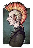 Axel *colored* (Stranger Things) by MelitaGermaine