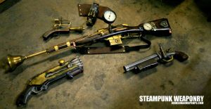 Steampunk Arsenal by JohnsonArmsProps