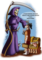Bye Sir Terry Pratchett by LadyRosse