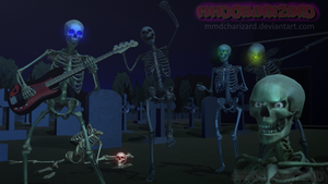 MMD Newcomers - Advanced Skeleton models +DL+ by MMDCharizard