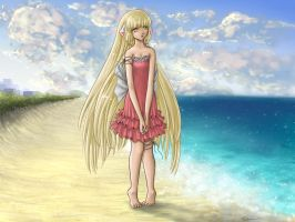 Chii on the Beach by ticibr