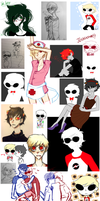 Homestuck - Art Dump 1 by W-i-s-s-l-e-r