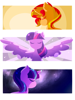 Sunset, Twilight, Starlight by Winterwithers