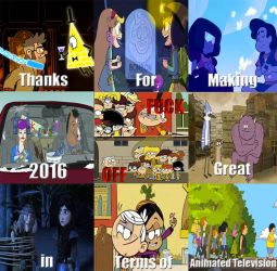 Thanks for making 2016 great by thearist2013