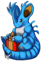 Pokemon: Shiny Nidoking by Takarti