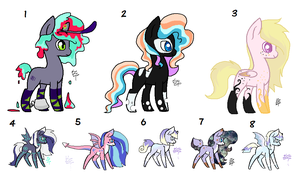 Cheap MLP Leftover Foals (Closed) by Blast4rt