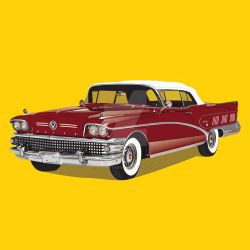 1958 Buick Limited Convertible by AdamKhabibi