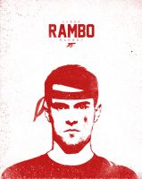 Aaron RAMBO Ramsey by manishdesigns