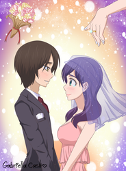 Asuma and Kae wedding by Ahiru-Matsuki
