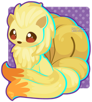 038 Ninetales by Miss-Glitter