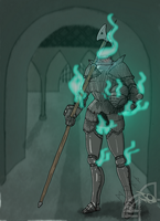 Haunted Armor by Morth-the-Raven