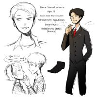 Blind OTP: Sam Johnson by lainykins