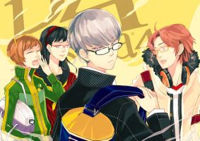 persona 4 by MissIfa