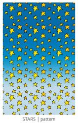 Cartoon Stars pattern by arwenita
