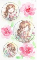 Rose Bubbles by Asu-hime