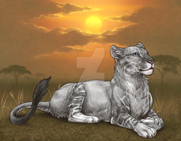Favorite lioness~ by RaveGalaxy