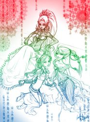 Goddesses of the Triforce by Firefly-Raye