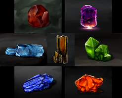 Crystals Study by Sephellone