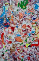 Abstract summer project 2015 by Evilpainter