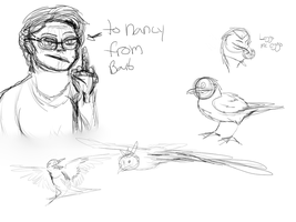 Bunches O Sketches  by flocksofseagulls