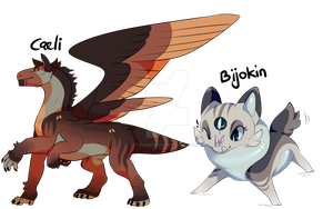 Caeli + Bijokin collab Auction (close) by onigiryStuff
