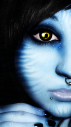 Personal Avatar Na'vi by desness