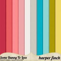 Some Bunny to Love Card Stock by Harper Finch by harperfinch