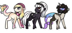 My little pony adopts| AUCTION: CLOSED by Rohammm