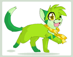 Shamrock -AT- by sparkythepichu