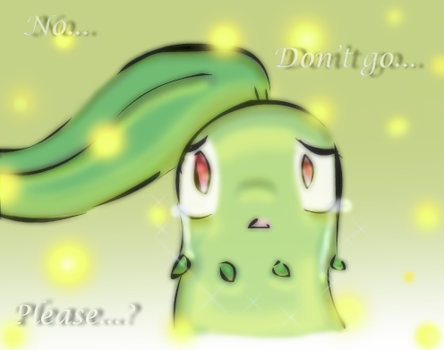 PMD SPOILERS- 'Don't go...' by Lunaros