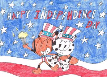 Happy Independence Day 2018 by thecrazyworldofjack