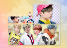 BTS | PNG PACK #28 | BTS x Dispatch by taertificials