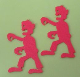 Laser cut Zombies by JasonYoungdale