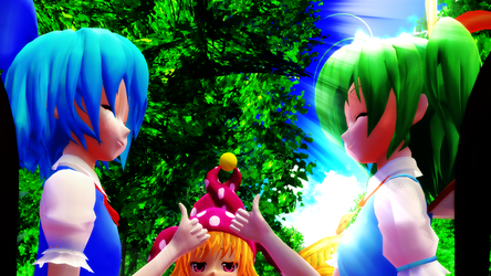 [Touhou MMD] Engrish Time! (Video) by Paradox-arts