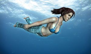 Christie - Swimming 3 by XNA44