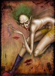 Funny Clown by asunder
