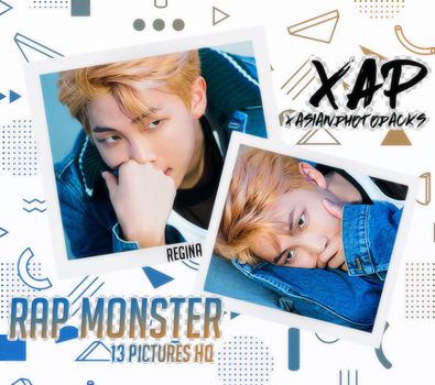 Photopack 2051 // Rap Monster (BTS) by xAsianPhotopacks