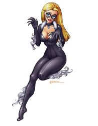 Commission: Lindsay as Black Cat by artlekina