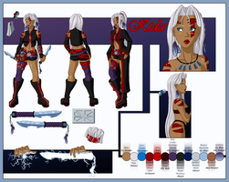 Kida - Character Sheet by lethalfairy