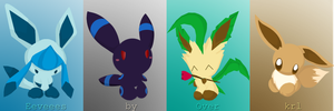 Eevee colection by Over-Krl