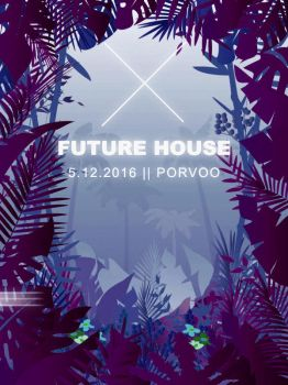 Jungle X House V1 - Desaturated Red 147 50 - delay by Igorius